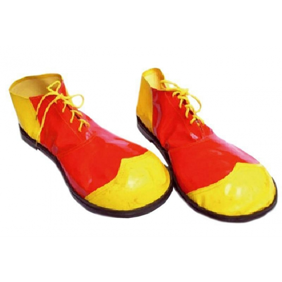 Chaussures Jaunes Clown Multi Rouge cpxEpoZRfk
